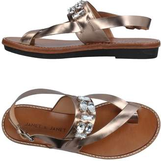 Janet & Janet Toe strap sandals