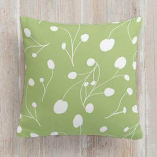 Posy Florets Self-Launch Square Pillows