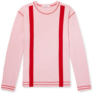 Craig Green Striped Cotton-Jersey Sweatshirt - Men - Pink