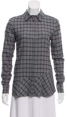 Thakoon Checked Button-Up Shirt