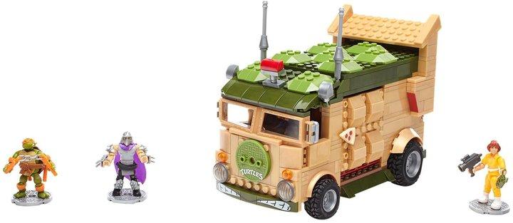 Mega Bloks Teenage Mutant Ninja Turtles Classic Party Wagon Building Kit