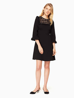 Kate Spade Lace inset dress