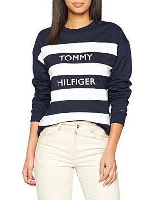 at Amazon Marketplace · Tommy Hilfiger Women s Kendra C-nk Sweatshirt Ls  Long Sleeve Top bbea3267a1a4