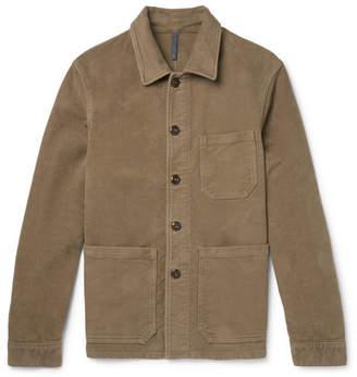 Incotex Cotton-Moleskin Shirt Jacket