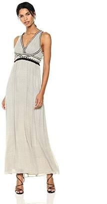 Max Studio MAXSTUDIO Women's Sleeveless Printed Maxi Dress