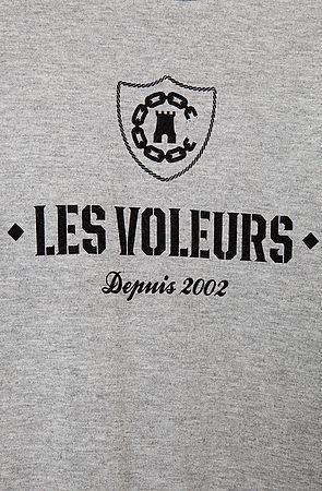 Crooks & Castles Crooks and Castles The Les Voleurs Crewneck in Burgundy