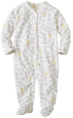 Baby Little Sleepers With Feet In Organic Pima Cotton $40 thestylecure.com