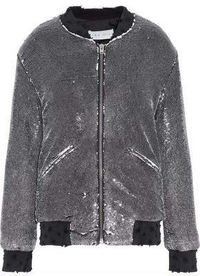 IRO Sequined Jersey Jacket