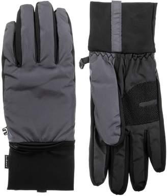 Isotoner Men's SleekHeatPackable Gloves