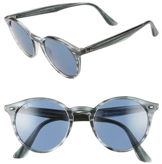 Ray-Ban Highstreet 51mm Round Sunglasses
