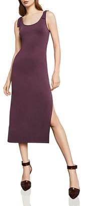 BCBGMAXAZRIA Tie-Strap Midi Dress