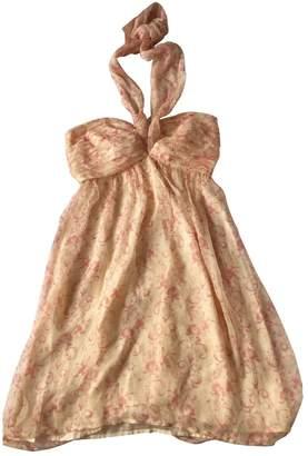 Tocca Pink Silk Dress for Women