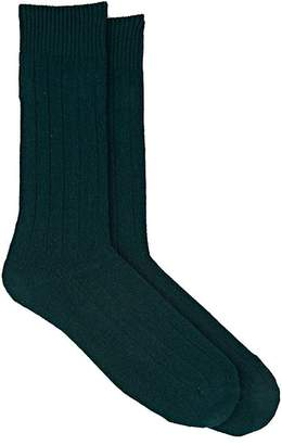 Barneys New York MEN'S KNIT MID-CALF SOCKS