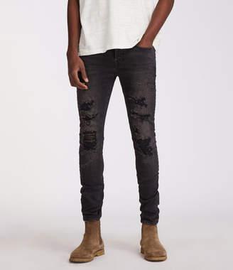 AllSaints Battle Cigarette Skinny Jeans