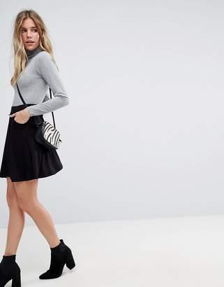 Asos Mini Skater Skirt with Pockets