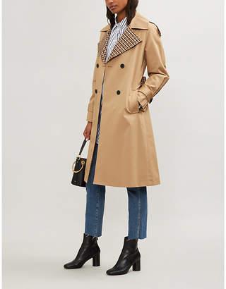 Claudie Pierlot Garreth cotton-gabardine trench coat