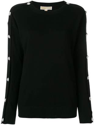 MICHAEL Michael Kors button-embellished sweater
