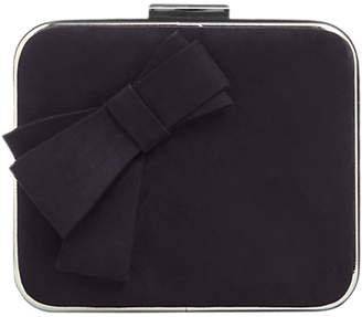 Phase Eight Allie Bow Front Box Bag, Navy