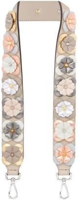 Fendi Embellished Flower Shoulder Strap