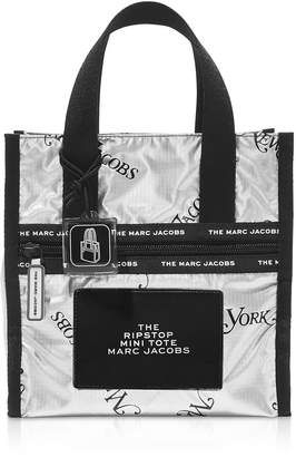 Marc Jacobs The Ripstop Ny Mag Metallic Nylon Mini Tote