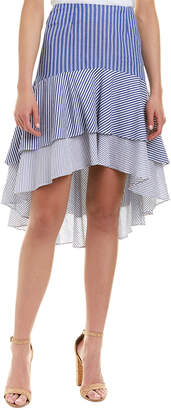 Do & Be DO+BE Do+Be Tiered High-Low Skirt