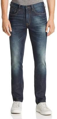 PRPS Goods & Co. Turning Super Slim Fit Jeans in Medium Blue