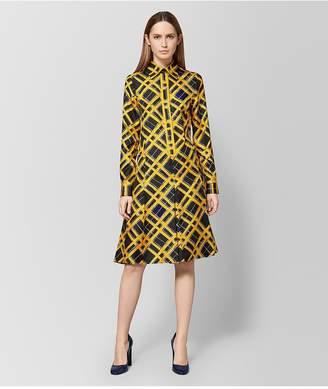 Bottega Veneta Multicolor Silk Dress