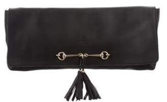 Gucci Tassel Horsebit Clutch Black Tassel Horsebit Clutch