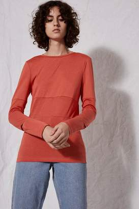 Topshop **Long Sleeve Slim Fit T-Shirt by Boutique