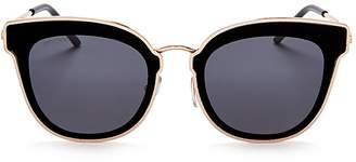 Jimmy Choo Nile Square Sunglasses, 63mm
