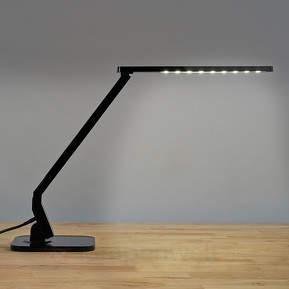 Schwarze LED-Schreibtischleuchte Eleni