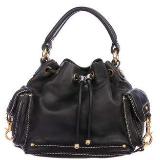 Marc Jacobs Leather Drawstring Bag