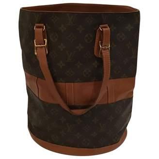 Louis Vuitton Vintage Bucket Other Cloth Handbag