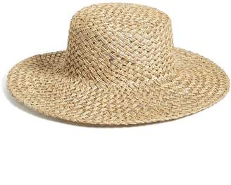 LACK OF COLOR 'The Sunny Dip' Wide Brim Woven Seagrass Hat