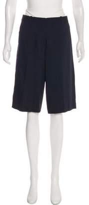 Theory Mid-Rise Knee-Length Shorts