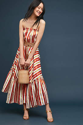 Binetti Love Andiamo Striped Maxi Dress