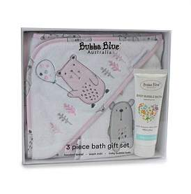 Bubba Blue Beary Sweet 3Pc Bathtime Gift Set