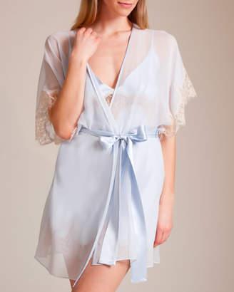 Christine Something Blue Short Robe