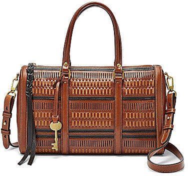 Fossil Fossil Kendall Perforated Satchel