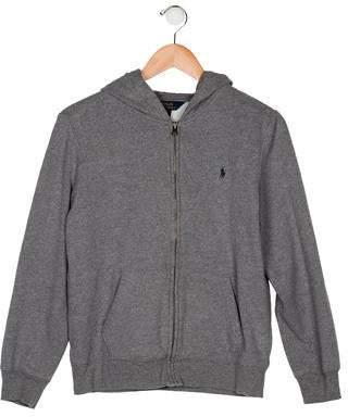 Ralph Lauren Polo Boys' Hooded Zip-Up Jacket
