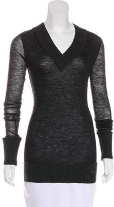 Dolce & Gabbana Knit Wool-Blend Top