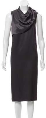 Bottega Veneta Pleated Silk Dress
