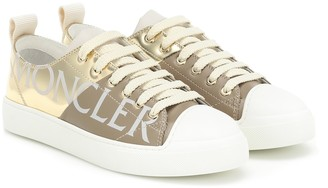 Moncler Linda leather sneakers