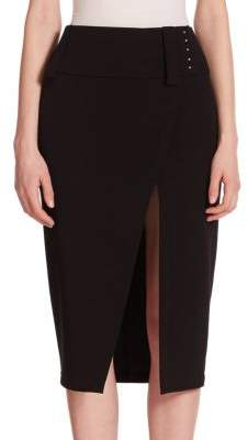 Derek Lam Wrap-Style Pencil Skirt