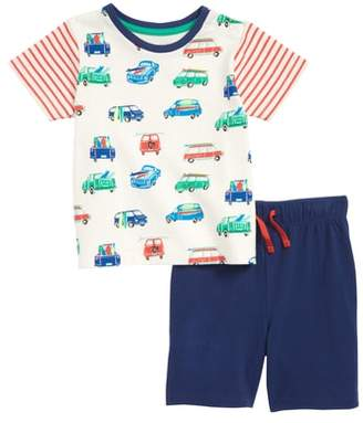 Boden Mini Fun Jersey T-Shirt & Shorts Set