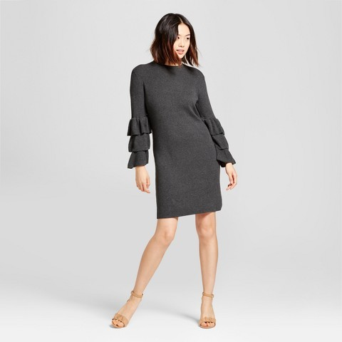 A New Day Women's Textured Sweater Dress