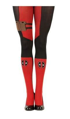 Bioworld Merchandising / Independent Sales Marvel Deadpool Women's Sheer Costume Tights