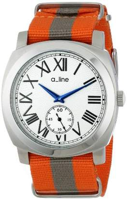 A Line a_line Women's AL-80023-02-OR-NS1 Pyar Analog Display Japanese Quartz Two Tone Watch