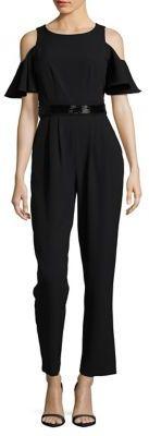Eliza J Braided Cold Shoulder Jumpsuit $158 thestylecure.com