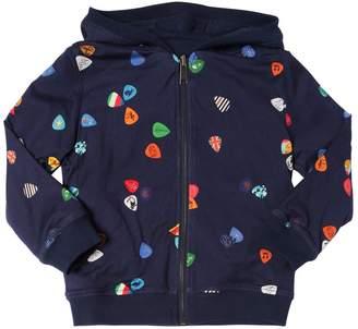 Paul Smith Reversible Hooded Cotton Sweatshirt